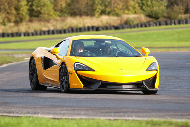 £49 instead of £99 for a three-mile McLaren 570S driving experience from U Drive Cars - choose from six locations and save 51%