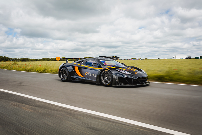 £79 instead of £158 for an eight-lap McLaren MP4-12C GT3 driving experience at Drift Limits, Hemel Hempstead. £119 for 12 laps - save up to 50%