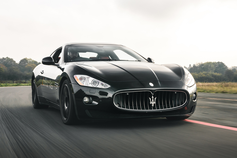 £39 for an eight-lap Maserati GranTurismo driving experience at Drift Limits, Hemel Hempstead. £59 for 12 laps - save up to 50%